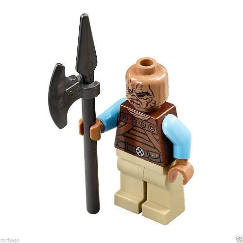 - LEGO MinifigurePacks Star Wars Bundle (1) WEEQUAY Skiff Guard (1) Figure Display Base (1) Figure Accessory by B&F-Minifigures