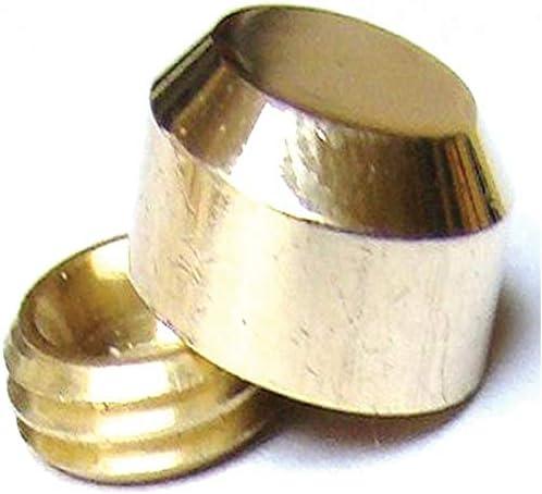 Cache vis plat Diam/ètre:16 mm D/écor:Chrom/é ITAR