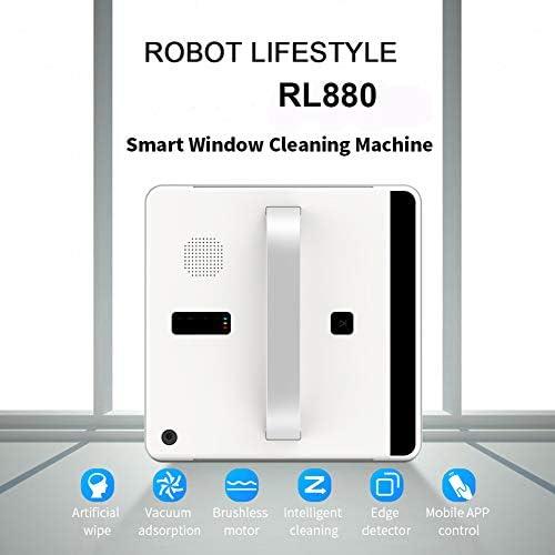 WNTHBJ Aspirateur Robot fenêtre Smart Cleaner Type d\'application prévu WiFi contrôle Fenêtre en Verre Robot Nettoyeur de 100-240V