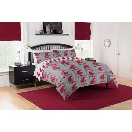 Official Washington State Cougars Queen Bed in Bag Set