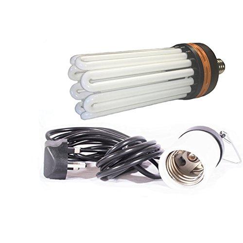 lumenlite Hydroponic Dual Spectrum CFL Bulb Indoor Growing & Flowering with Bulb holder (125 watt) ACI