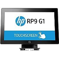 HP V2V68UT#ABA RP9 G1 Retail System 9015 Desktop 15.6, 4 GB RAM, 500 GB HDD, Black/Silver