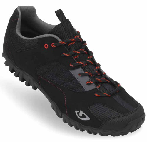 Giro 2013 Men's Rumble Mountain Cycling Shoes (Black - 42)