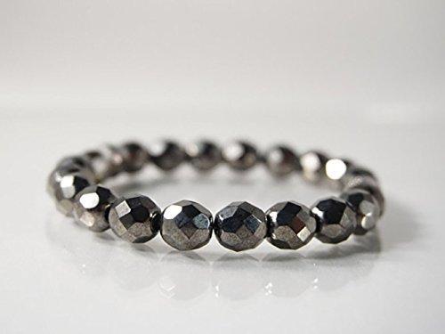 Hematite /& Czech Glass Bracelet