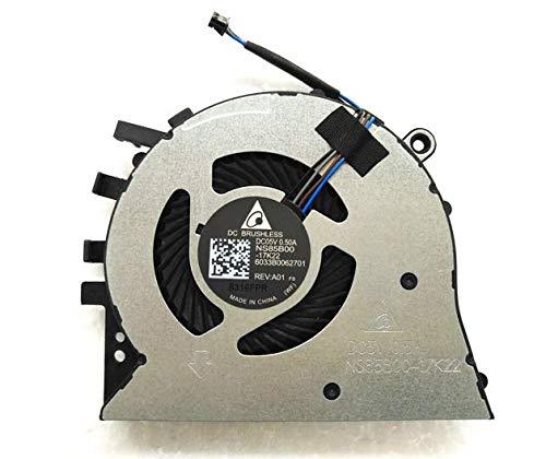 Cooling Fan para HP 17-by 17-BY0053C CPU Fan NS85B00-17K2...