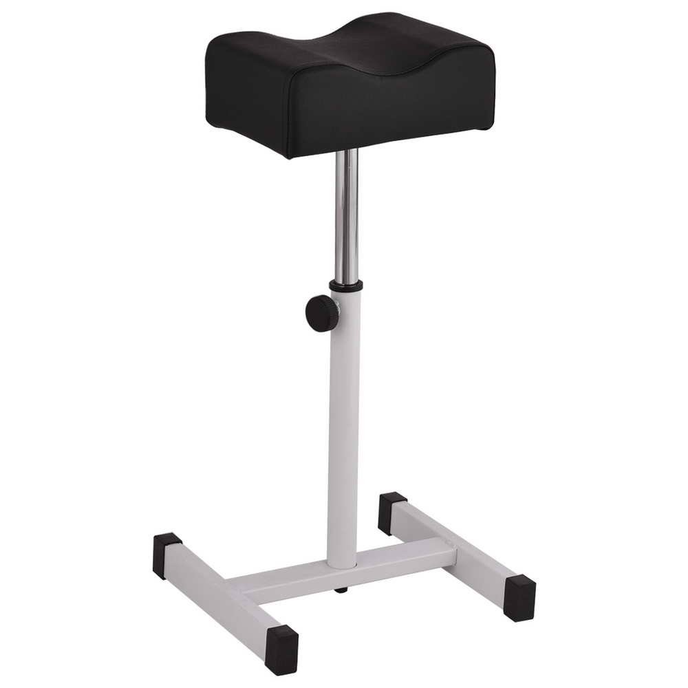 WATERJOY Stool, Adjustable Pedicure Manicure Technician Nail Footrest Salon Spa Equipment, Barber chair