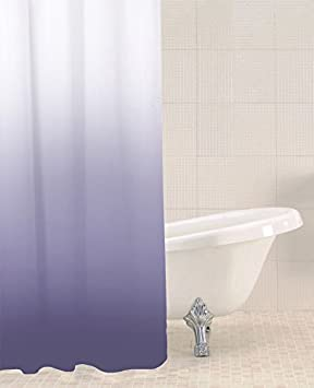 Sabichi Purple Ombre Polyester Shower Curtain