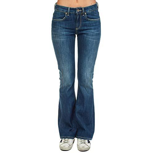 DONDUP Femme DP297DS0107T43G800 Bleu Coton Jeans