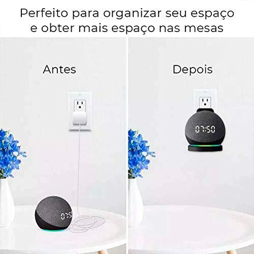 Suporte Echo Dot 4a Geração WB Preto