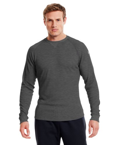 Under Armour Men's UA Thermal 2.0 Crew Shirt Small Carbon Heather