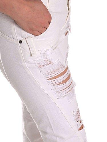 Fornarina Donna Fornarina Be171l94d877km Jeans Jeans Be171l94d877km Donna Bianco TYgTqdwrx