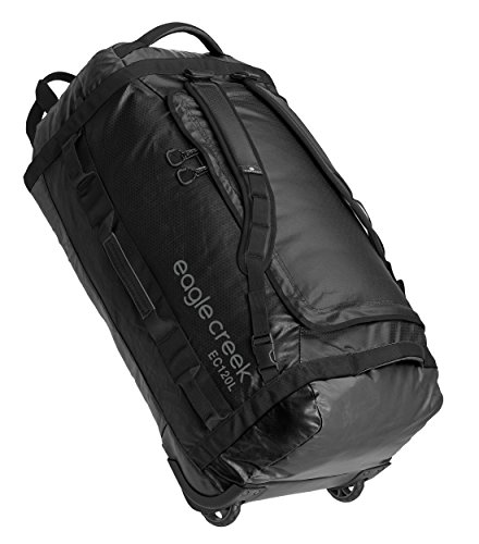 Nylon Tote Tech Bag - Eagle Creek Cargo Hauler Rolling Duffel 120l-Extra L, Black