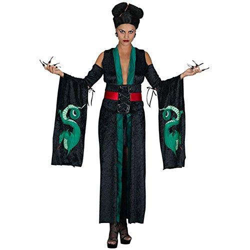 Adult's Gothic Geisha Costume (Size: Standard 12) -