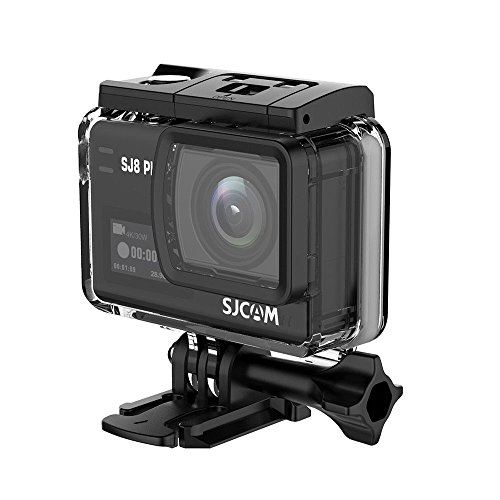 "SJCAM SJ8 Plus Action Camera, 4k/30fps 12mp Sports Cam with Sony Sensor, EIS, 170°Wide-angle Lens, 2.33"" Touchscreen, 1200mAH Battery for Underwater, Outdoor Activity (Waterproof Case Included) SJCAM"