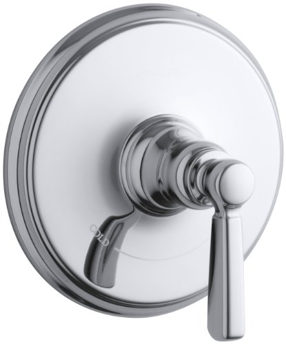 - KOHLER K-T10593-4-CP Bancroft Thermostatic Trim, Polished Chrome