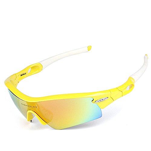 Soleil WEATLY 2 de Yellow de Lunettes extérieures 1 UV400 Hommes Protection 1 de 01 Lunettes polarisées Yellow Lunettes Color Soleil Clarity wxRRqtrB0