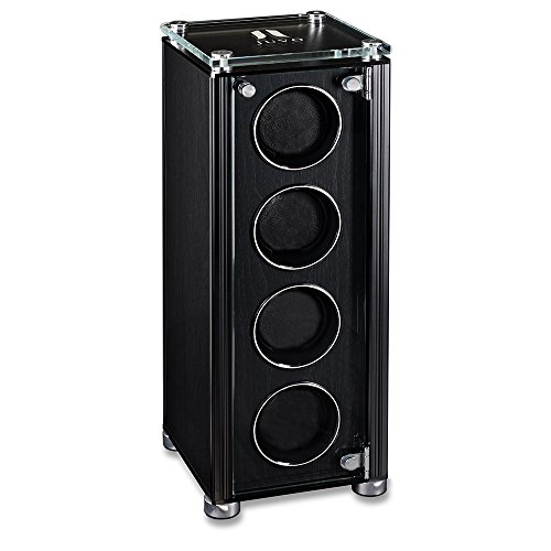 Quad Automatic Watch Winder For Men's Automatic Watches, JUVO M4 Black by Juvo (Image #5)