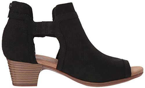 for sale for sale cheap sale best sale CLARKS Women's Valarie Kimble Heeled Sandal Black Nubuck bEtVP