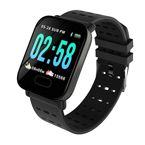 [Apply coupon] RPMSD A6 Smart Watch Bluetooth Smartwatch Compatible with All Android and iOS Phone Or Device for Boys and Girls