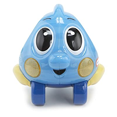 Little Tikes Lil' Ocean Explorers - Push 'n Glow Fish- Blue: Toys & Games