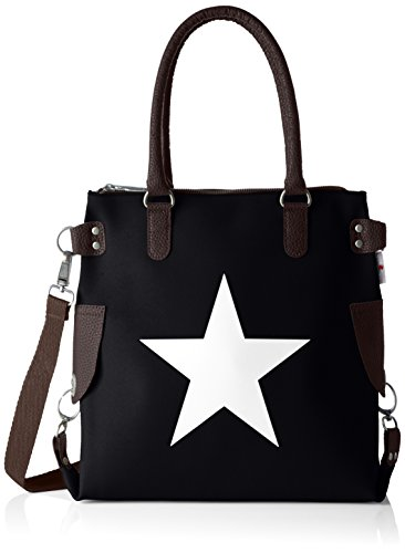 velours Stern Bags4less Noir Verlours schwarz Sac Bandoulière schwarz mini 6XUqfwUF
