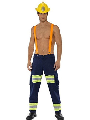 Smiffys Fever Male Firefighter Costume