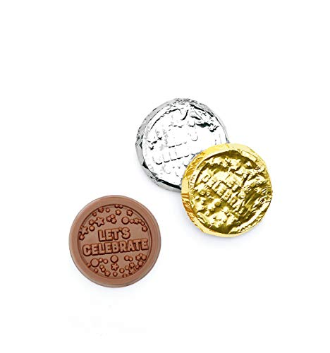 (250 x Belgian Milk Chocolate Mixed Foiled Celebration Coins)