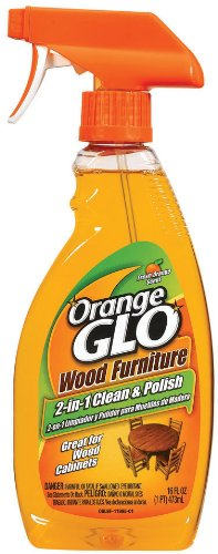 Orange Glo 2-in-1 Clean & Polish Wood Furniture Spray - 16 oz - 2 pk by Orange Glo (Image #1)