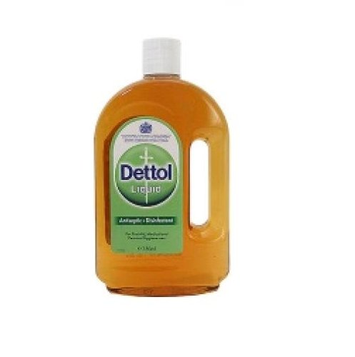 Dettol Antiseptic Liquid from England 750ml Bottle (Pack of 2) ()