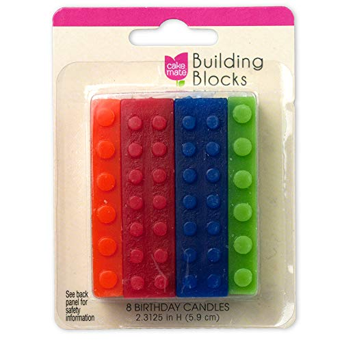 Building Blocks Candles - 8ct