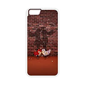"""New Fashion Design Custom Phone Case for Iphone6 plus 5.5"""""""" Case Cover with Love Image WMJU-800366"""