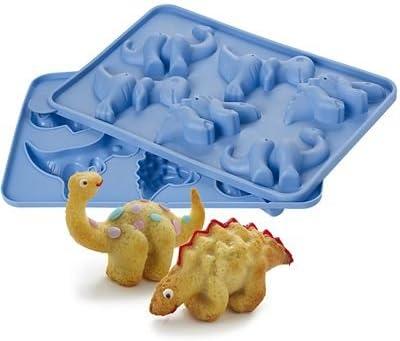 Fine Lakeland 6 Hole 3D Dinosaur Birthday Cake Silicone Mould 3 Funny Birthday Cards Online Eattedamsfinfo