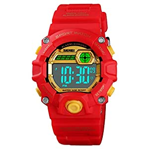 Digital Sports Watch for Kids, Boys Girls Watch Age 5-10