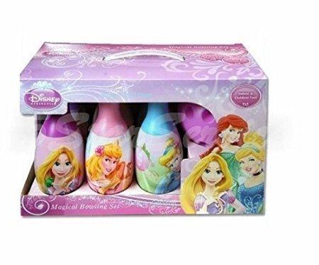 Brand New! Disney Princess Bowling Set - Girls Boys Kids Birthday Gift Toy 6 Pins & 1 Ball