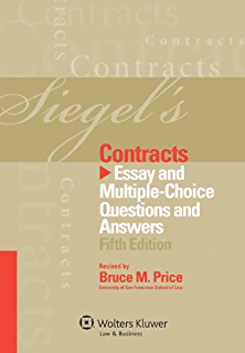 Questions answers contracts kindle edition by scott j burnham siegels contracts essay and multiple choice questions and answers fifth edition fandeluxe Image collections
