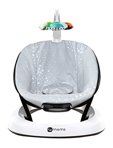 4moms bounceRoo bouncer silver plush