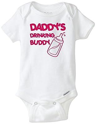 Daddy's Drinking Buddy Onesie Blakenreag Baby Girl
