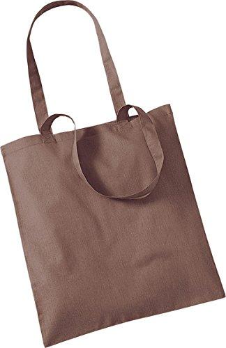 Westford Mill Shopper Handtasche Aufbewahrung Reisetasche Promo Schulter Tasche One Size Braun - Chestnut