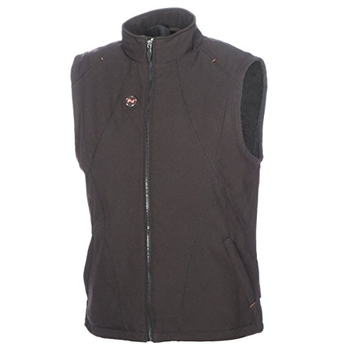 (Mobile Warming Unisex-Adult Dual Power Heated 12v Vest (Black, Large))