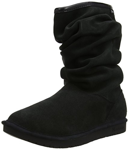 Black Womens Boot Skechers Womens Skechers Snow Helsinki Shelbys OE0qax1a