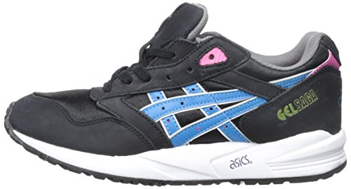 Asics Gelsaga Womens Trainers Leather Nero O8w8pxqa61