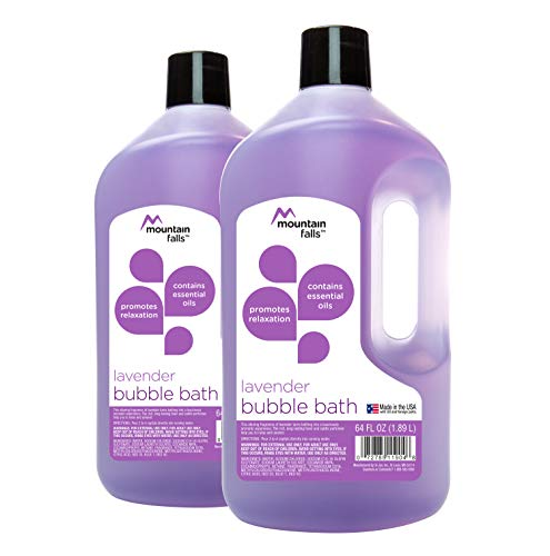 Mountain Falls Bubble Bath, Lavender, 64 fluid ounce (Pack of 2)
