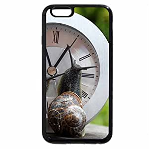 iPhone 6S / iPhone 6 Case (Black) Snail Time