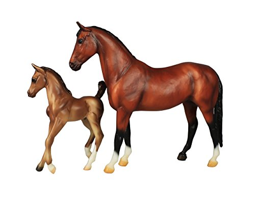 Breyer Classics Blood Bay Warmblood and Foal Set