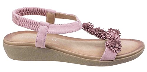 amp; Matira Pink Womens Fleet Slingback Summer ladies T Bar Sandals Foster axfIIdH