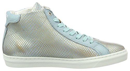 Pantofola dOro Paularo Donne Mid, Sneaker Donna Blu (Babe Blue)