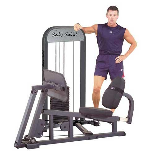 Body Solid Stand Alone Lower Body Gym with Weight Stack by Body Solid