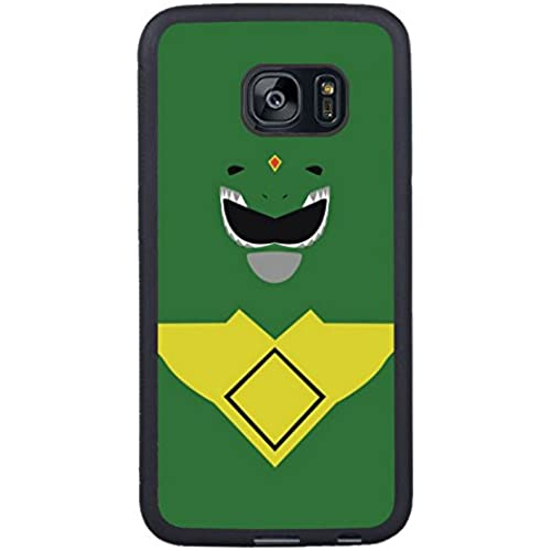 Galaxy S7 Edge Case,Green Ranger Black Premium Hybrid High Impact *Shock Absorbent* Defender Case For Samsung Sales
