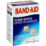BAND-AID CLEAR SPOTS 50EA J&J CONSUMER SECTOR