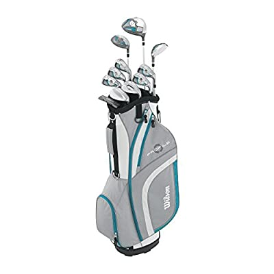 Wilson Women's 2015 Ladies Profile XLS Complete Package Golf Set, Teal